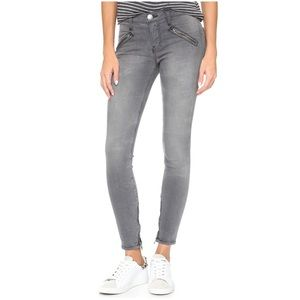 "Current/Elliott ""the  Silverlake Zip' Jeans Sz 27"
